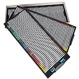 Lápices de colores profesionales, varilla hexagonal más suave, brillante, fácil de identificar, juego de 150 lápices de colores, práctico para estudiantes de arte, dibujo