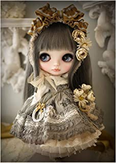 Princess Doll DIY 5D Full Drill Diamond Painting Embroidery Cross Stitch Kit Rhinestone Home Decoration Craft