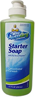 Mr. Clean AutoDry Car Wash Starter Concentrated Soap with Rinse Dry Polymer 6 Oz