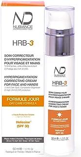 NUBIANCE - Tratamiento Corrector de Hiperpigmentación HRB-3 Fórmula de Día SPF 30 50ml. Crema Anti Manchas para Rostro ...