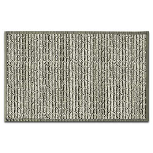 casa pura Tappeto di Legno per Cucina - Tappeto Bamboo Antimacchia e Antiscivolo | 7 Misure e 2 Colori | Naturale - 200 x 300 cm