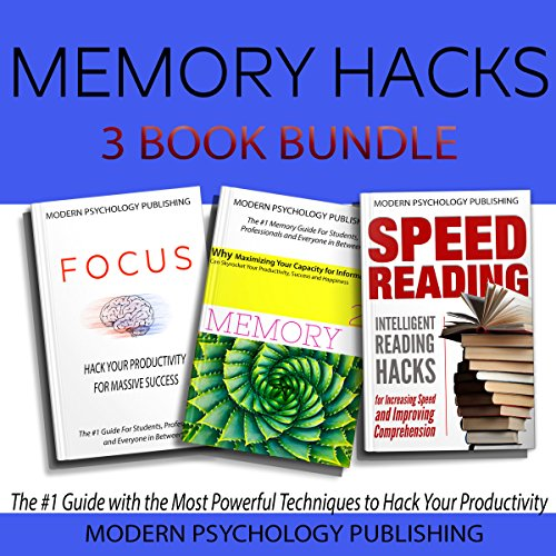 Memory Hacks: 3-Book Bundle cover art