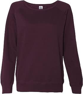 SS240 - Junior's Heavenly Fleece Crewneck Sweatshirt