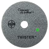 Twister Diamond Cleaning System 20' Green Floor Pad - 3000 Grit - 2 per case