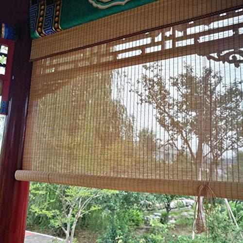 Bambusrollo Patio-Außenrollos, Rollo Im Freien Für Veranda-Plattform-Balkon-Pergola-Carport-Garage, 85cm / 105cm / 125cm / 145cm Breit (Size : 145×220cm)