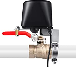 WiFi Smart Valve Controller, Smart Watering Switch, draadloze afstandsbediening, timerfunctie, compatibel met iOS/Android,...