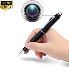 Pen Spy Camera por Audio Video Fotograf/ías Pluma Esp/ía C/ámara Oculta Full HD 1080P Smartex