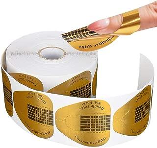 Biutee Nail Forms 100Pcs Nails Gel Extension Sticker Nail Art Professional Acrylic Nail Forms