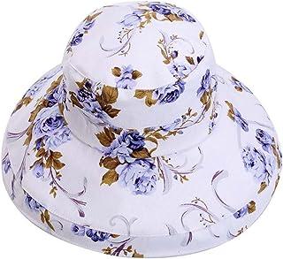 Bucket Sombreros Sombrero plegable de sol de tela Sombrero de playa al aire libre de verano Sombrero de sol