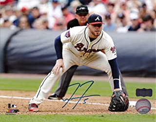 Freddie Freeman Autographed/Signed Atlanta Braves 8x10 Unframed Photo