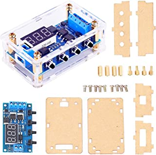 ICstation Timer Relay, DC 5V 12V 24V 36V Cycle Delay High Level Trigger Module Programmable Digital Switch Board Dual MOS Pulser With Optocoupler Isolation