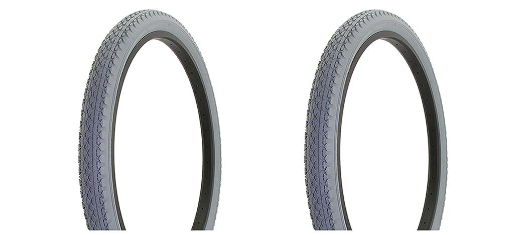 些細管理しますすずめLowrider 自転車用タイヤ デュロ 26インチ x 2.125インチ グレー/グレー サイドウォール HF-133 ビーチクルーザータイヤ