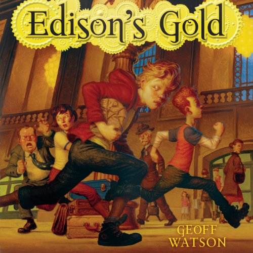 Edison's Gold audiobook cover art