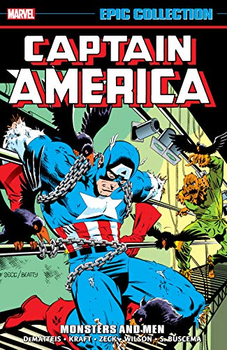 Captain America Epic Collection: Monsters And Men (Captain America (1968-1996)) (English Edition)