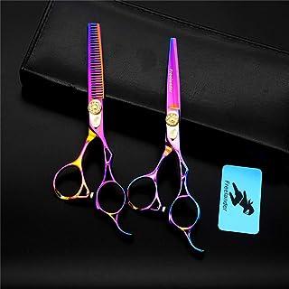 Professional Hair Snijden Schaar 5,5 Inch Japan 440C Roestvrij Staal Set, Lichtgewicht En Hoge Kwaliteit Met Haarscherpe K...