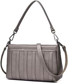 Shoulder Bag Hobos & Shoulder Bags Totes Messenger Bag Female Bag Shoulder Bag Simple Large Capacity Handbag Soft Handbag Clutch (Color : Bronze)