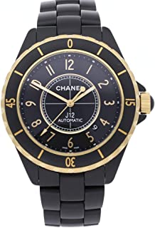 J12 Mechanical (Automatic) Black Dial Mens Watch H2918 (Certified Pre-Owned)