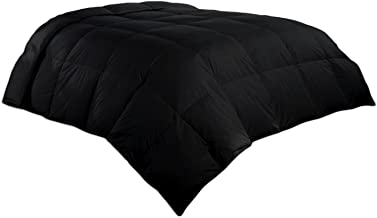 Luxlen King/California King Comforter in Black | Down Alternative