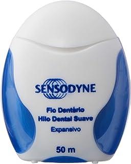 Sensodyne Hilo dental suave, expansivo, con flúor y sabor a