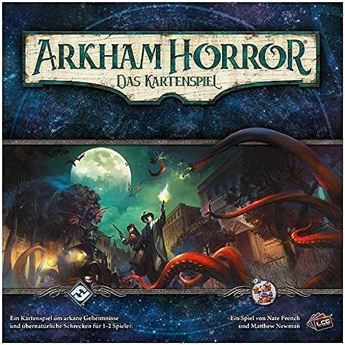 Asmodee FFGD1100 Arkham Horror  LCG-Gründspiel