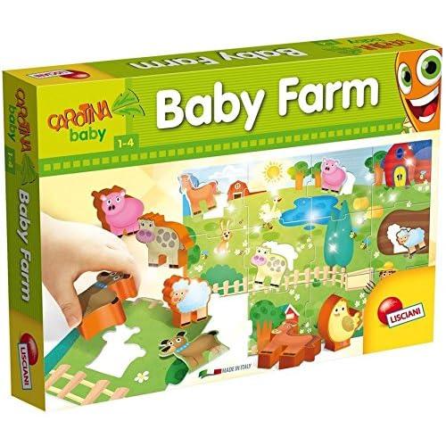 Lisciani Giochi 53384 - Carotina Baby Farm, Multicolore