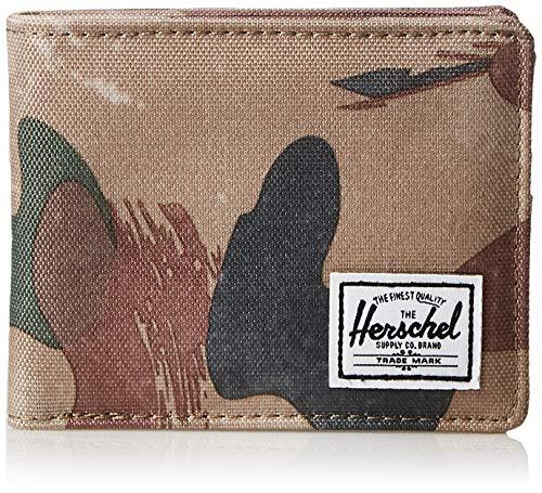 Herschel Supply Roy RFID Accesorio de Viaje- Billetera Plegable, Brushstroke Camo, Taille...