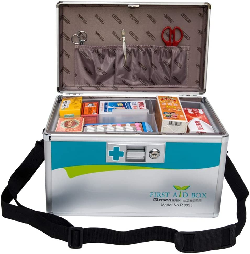 Award-winning store Medicine Indefinitely Box Home Size Multi-Layer Alloy Aluminum M