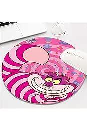 Laptop Cheshire y Gato Sonriendo Disney Mouse Pad Alfombrilla de rat/ón Rectangular para Ordenadores Alfombrilla de rat/ón Antideslizante de Goma para Juegos Alicia en el Pa/ís de Las Maravillas