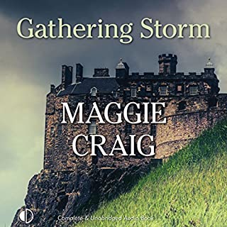 Gathering Storm audiobook cover art