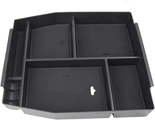 wholesale Mallofusa for Ford F-150 high quality F150 2015-2019 Interior Car Center Console Armrest Storage Organizer popular Holder Tray Box outlet sale