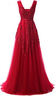 Best red lace prom dress Reviews
