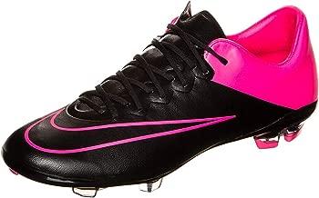 Nike Youth Mercurial Vapor X Firm Ground (Black/Hyper Pink/Black)
