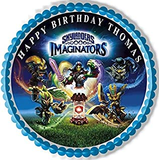 Skylanders Imaginators - Edible Cake Topper - 7.5