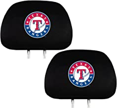 Team ProMark Fan Shop Baseball Team Headrest Cover Bundle (Texas Rangers)