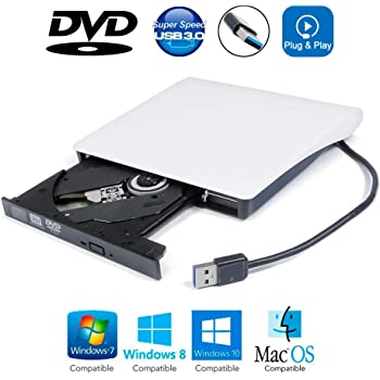 USB 2.0 External CD//DVD Drive for Asus A53e-sx2030s