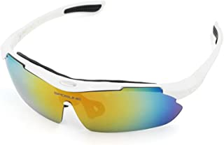 Aooaz Outdoor Sports Glasses Riding Polarized Glasses Hiking Fishing Running Golf Uv Protection