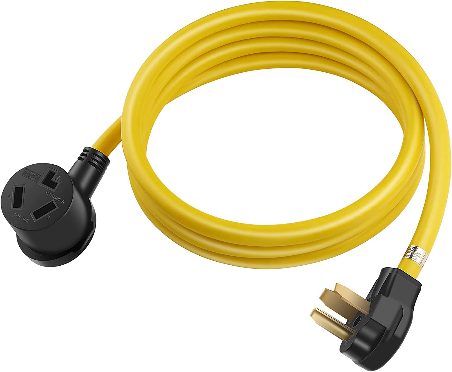 Yellow 10FT lowest price 3 Prong Dryer Cord 10-30 Extension Co Max 73% OFF NEMA