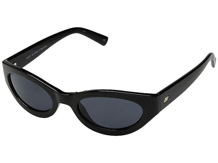 Le Specs Body Bumpin (Black Smoke Mono) Fashion Sunglasses