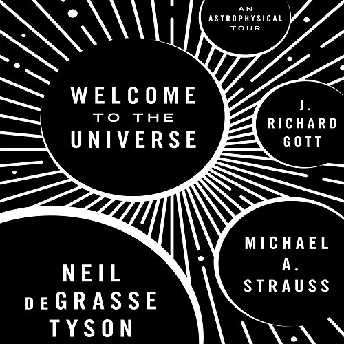 Welcome to the Universe audiobook cover art