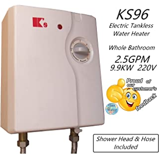 King's Electric Tankless Water Heater Instant 11.8 KW @240V up to 40260 BTU