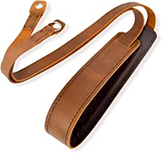 Camera Shoulder Neck Strap Vintage Belt for All DSLR Camera Mirrorless Nikon Leica Fujifilm Sony Panasonic Canon Olympus Pentax Classic - Genuine Leather