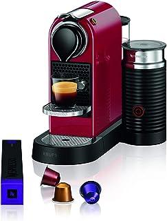 Nespresso Citiz XN7615 Roja EU, acero inoxidable, Citiz&Milk Granate