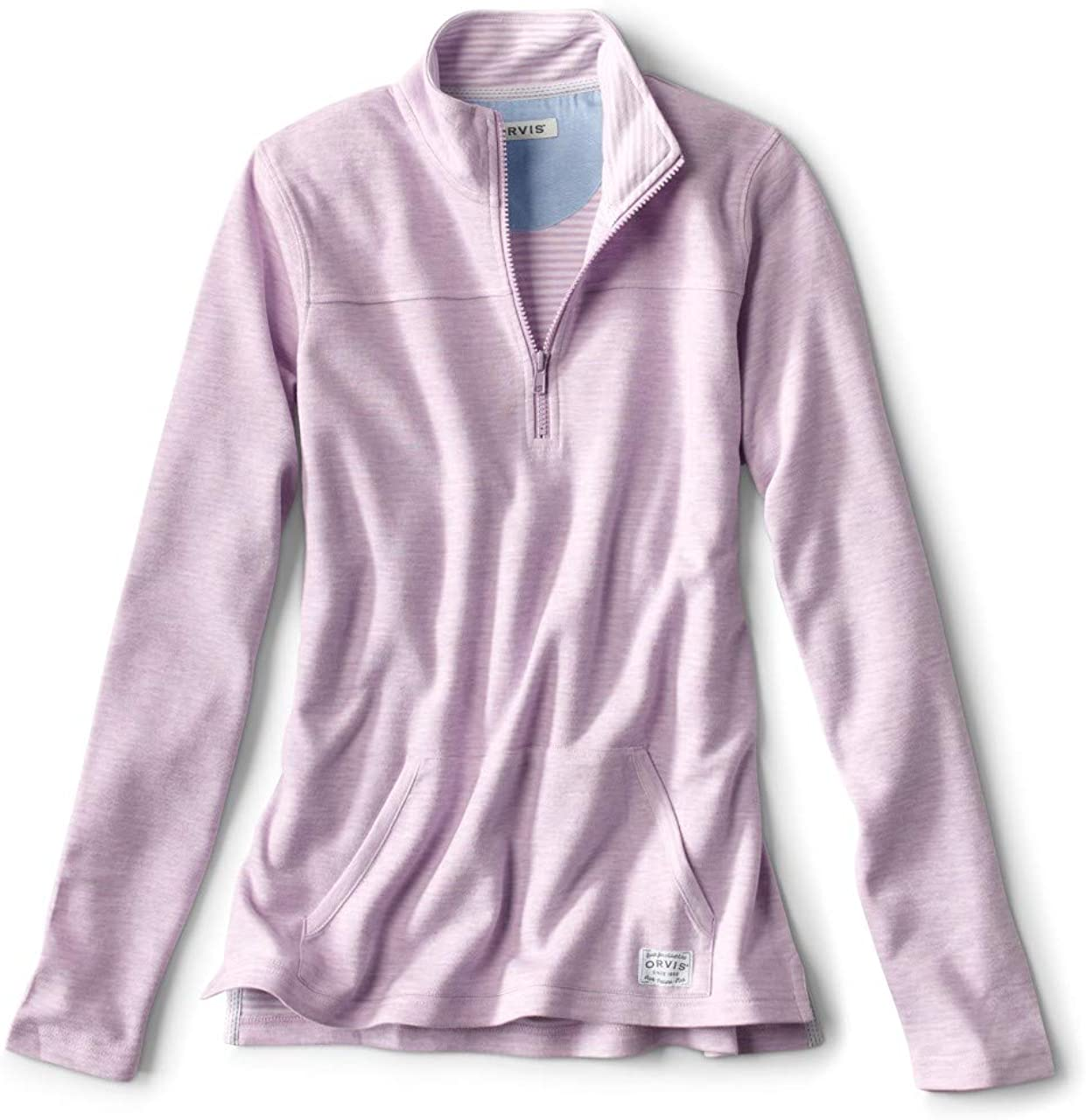 Orvis Women/'s 1//4 Zip Pull Over Sweatshirt