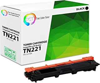 TCT Premium Compatible Toner Cartridge Replacement for Brother TN-221 TN221BK Black Works with Brother HL-3140 3150 3152 3170, MFC-9130 9140 9330 9340, DCP-9020 Printers (2,500 Pages)