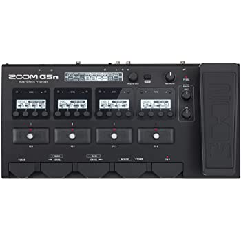 Zoom G5n Guitar Multi-Effects Processor with Expression Pedal, with 100+ Built in Effects, Amp Modeling, Stereo Effects, Looper, Rhythm Section, Tuner, Audio Interface for Direct Recording to Computer