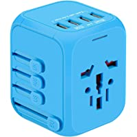 Yvelines International Travel Adapter (Blue)