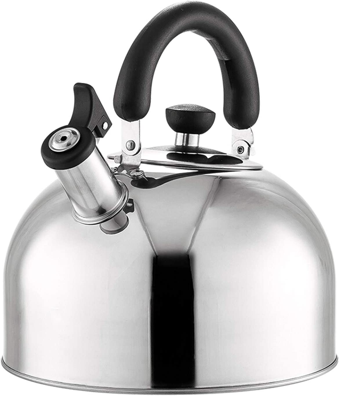 qiqi OFFer Tea Kettle-Tea Pot Luxury goods Stainless Steel Wa Whistle Hot Thickened