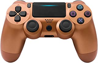 YSM Controller Wireless Steam Controller for Pc Bluetooth Wireless/USB Wired Joystick for PS4 Controller Fit for Dualshock 4 Gamepad for PS3 Console,G