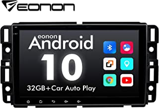 2020 Newest Double Din Car Stereo, Eonon 8 Inch Android 10 Car Radio Compatible with Chevrolet/GMC/Buick, GPS Navigation Radio Support Split Screen/Built-in Apple Carplay/DSP -GA9480B