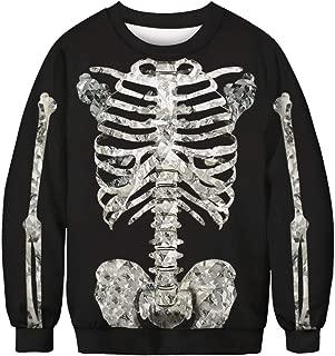 Unisex Halloween Christmas Themes 3D-Print Athletic Sweaters Fashion Hoodies Sweatshirts